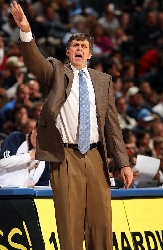 Six coaches were fired before Christmas, from those failing to meet expectations (Toronto's Sam Mitchell and Philadelphia's Maurice Cheeks) and struggling to accelerate rebuilding plans (Oklahoma City's P.J. Carlesimo, Minnesota's Randy Wittman and Sacramento's Reggie Theus) to Eddie Jordan, who didn't win much in Washington without injured starters Gilbert Arenas and Brendan Haywood. The most successful replacements? The Thunder are showing improvement under Scott Brooks, the 76ers have caught fire lately (without Elton Brand) under Tony DiLeo and the Timberwolves are on a roll in January under Kevin McHale (pictured).
