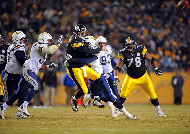 Ben Roethlisberger also had a workmanlike performance, completing 17-of-27 passes for 181 yards and a touchdown.