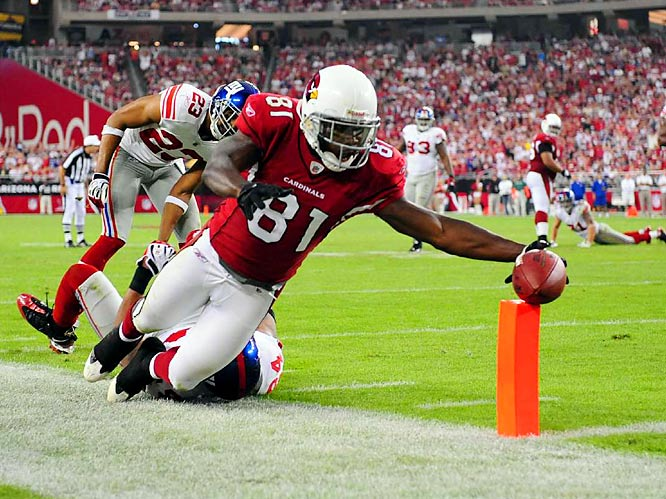 Shhhhh. Forget Anquan's anger. Forget Haley's comments. Both Boldin, the Arizona receiver bound for his fourth Pro Bowl, and Todd Haley, the Cards' intense offensive coordinator, insist their sideline hissy fit against Philadelphia is history. Now Boldin, a beast of a wideout (89 catches for 1,038 yards and 11 TDs despite missing four games with injuries), can make history. Official Vegas Odds: 12-1.