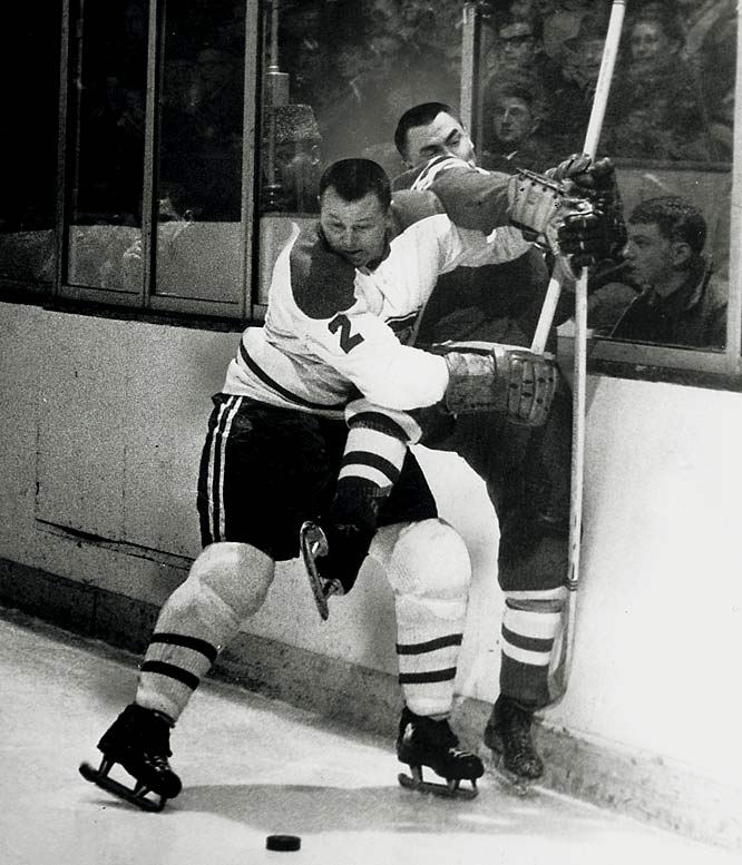 Arguably the best defenseman in NHL as well as Habs history, the Montreal native preceded Bobby Orr in revolutionizing the way the backline position is played.  The first offensive-defenseman, Harvey's superb puck control fueled the Habs' five straight Cups. The captain also won the Norris Trophy as the league's top blueliner four years in a row and seven times overall during his 18-year career, a total that is second to Orr's eight.