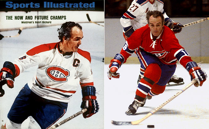 """The Rocket's diminutive kid brother was called """"The Pocket Rocket""""  and during his 20 years in the NHL (1955-75), he skated in more games as a Canadien (1,259) than any other player in team history. A superb playmaker, his name is etched on a record 11 Cups."""