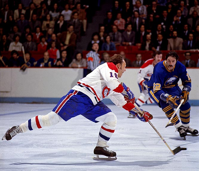 A throwback to Montreal's ''Flying Frenchmen'' of the 1920s and `30s, Cournoyer was called ''Road Runner'' for his dazzling speed. Between 1963 and 1979, he scored at least 20 goals in 12 straight seasons and won 10 Stanley Cups.