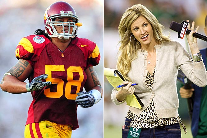 "Well, apparently not everybody was a fan of Maualuga's ""dance"" with Andrews, which became a YouTube sensation after the Rose Bowl. USC and the All-American linebacker issued an apology, which still wasn't enough for Donna Lopiano, former CEO of the Women's Sports Foundation. She called Maualuga ""my first-round pick for 'offensive' player of the year."" Get it, he's a defensive player but she means offensive like, oh, forget it."