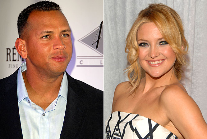 "Now that the A-Rod and Madonna rumors have died down, there are reports of a possible fling between the New York Yankees slugger and Kate Hudson. Apparently he took the actress out for a three-hour meal at the Lure Fishbar with friends, and the two were very cozy, according to the ""New York Post."" The couple later went to the Rose Bar, where they met up with other friends. Seems like a lot of friends for an actual date, but maybe A-Rod is about as clutch off the field as he is on and needs some help."