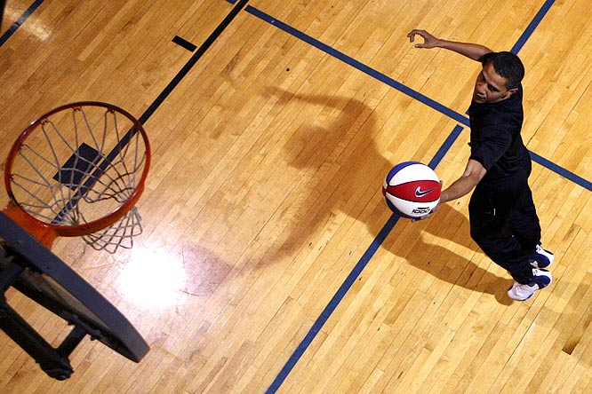 Barack Obama intends to install a basketball court into the White House so he can play pick-up games with his cabinet and maybe even some world leaders. After all, nothing ends conflict better than a friendly game of H-O-R-S-E.