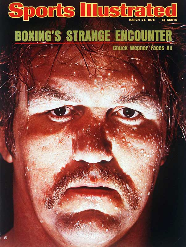"""Often credited as the inspiration for the character Rocky Balboa, Wepner went 15 rounds with Muhammad Ali in 1975, even knocking down the champ in the ninth round. Wepner went to his corner and said to his manager, """"Hey, I knocked him down."""" His manager shot back: """"Yeah, but he looks really pissed off now."""""""