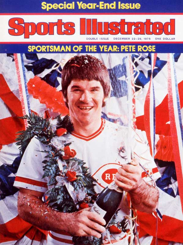 Before a gambling scandal ended his baseball career in 1989, Pete Rose was among the game's brightest stars and recipient of the 1975 Sportsman of the Year Award.