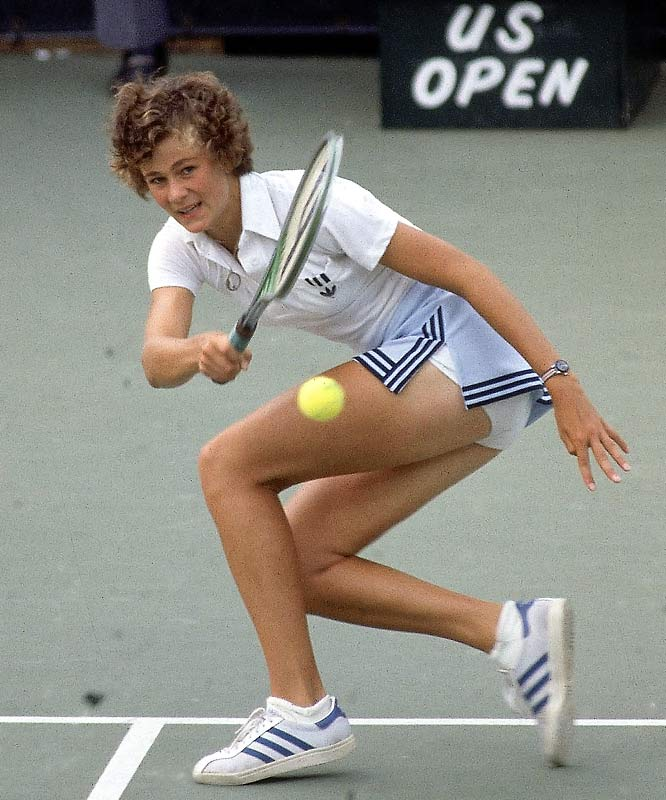 Shriver became the youngest women's singles finalist in U.S. Open history at 16 in 1978, bowing to Chris Evert in straight sets. Shriver went on to win 20-of- 21 Grand Slam doubles titles with longtime partner Martina Navratilova. She also won a gold medal in women's doubles alongside Zina Garrison at the 1988 Olympics in Seoul.  Worthy of consideration: Dominique Dawes.