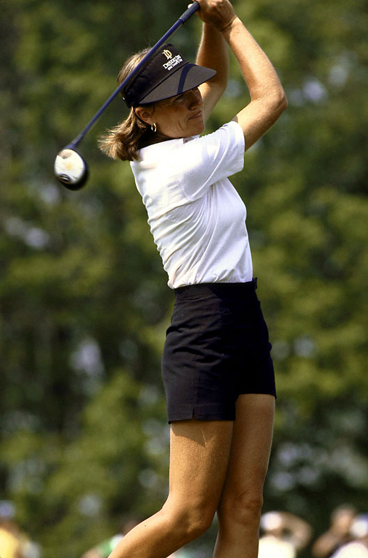 After earning the LPGA Rookie of the Year award in 1969, Blalock quickly became one of the most dominant golfers -- male or female -- in the pros, though she never earned a major championship.  By her last win in 1985, she had won a tour-record 27 tournaments and amassed $1,290,944  in career earnings.  Worthy of consideration: Tricia Dunn, Katie King and Liz McIntyre.