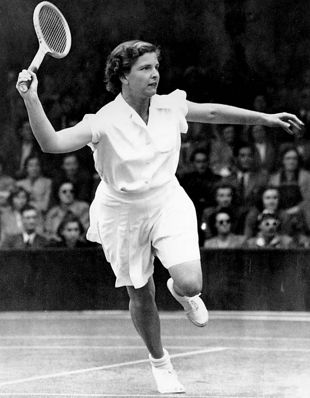 A unstoppable tennis force, she racked up 37 Grand Slam titles, including six singles titles, three of which came in consecutive U.S. Opens.  She interrupted her career to give birth to a son, yet returned to the court afterward to become one of the few women of her era to win a major title following childbirth.  Worthy of consideration: Tonya Harding, Carol Menken-Schaudt, Kim Peyton and Katy Steding.