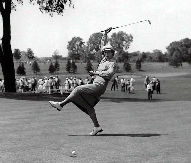 Zaharias was the original renaissance woman: a three-medal Olympian in track and field (at the 1932 Games, she won gold in the 80-meter hurdles and javelin and earned bronze in the high jump); an All-America basketball player; America's first female golf celebrity, having won every golf title out there; an expert in diving, swimming, volleyball, bowling, boxing, handball, billiards, skating, cycling and even singing.  Worthy of consideration: Cat Osterman, Sheryl Swoopes and Kathy Whitworth.