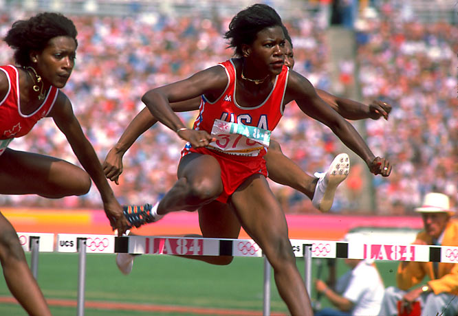 Fitzgerald, a two-time U.S. Olympian in track and field (1980 and 1984), won the gold medal in the 100-meter hurdles in '84 to become just the second American woman to win the event. A gold medalist at the 1983 Pan-American Games, she was also a three-time 100-meter hurdles champ and 15-time All-America while at Tennessee.