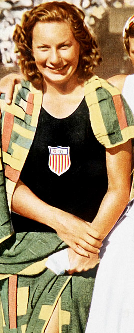 At one point she held all 16 freestyle swimming world records and 56 U.S. records. She was the only athlete to win three gold medals at the 1932 Olympics, finishing first in the 100-meter free, 400 free and 4x100 free relay.  Worthy of consideration: Connie Carpenter-Phinney, Jean Driscoll, Suzy Favor Hamilton, Beth Heiden, Wendy Boglioli, Chellsie Memmel, Danica Patrick and Chris Witty.