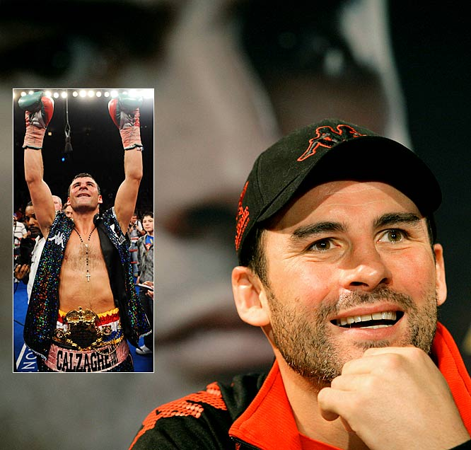 Former super-middleweight champion Joe Calzaghe wrapped up his 16-year pro career with a win over Roy Jones, Jr. The Welshman held the WBO super middleweight world title for more than 10 years, unified the title in 2007, and retired with a record of 46-0.