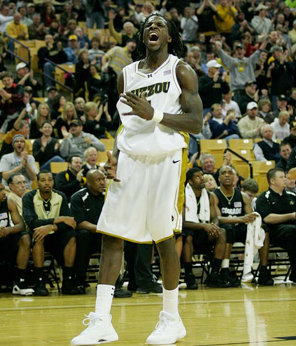 If Missouri wants a shot at the NCAA tournament, a win over conference-rival Kansas would serve as an excellent boost.  DeMarre Carroll (pictured) is averaging 17.2 ppg for the Tigers.