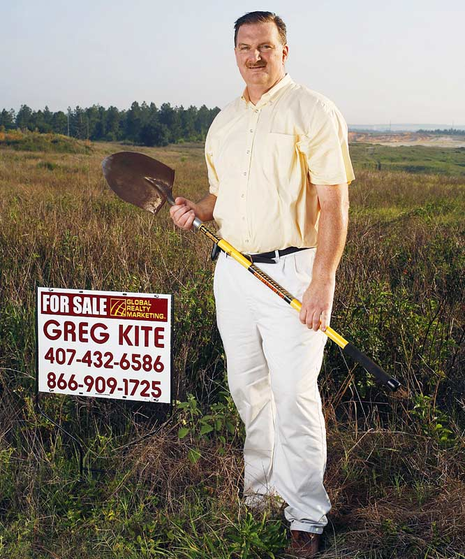 Former Celtics reserve Greg Kite, who was featured in SI's 2006 'Where are They Now' issue, runs a real estate company in Orlando.
