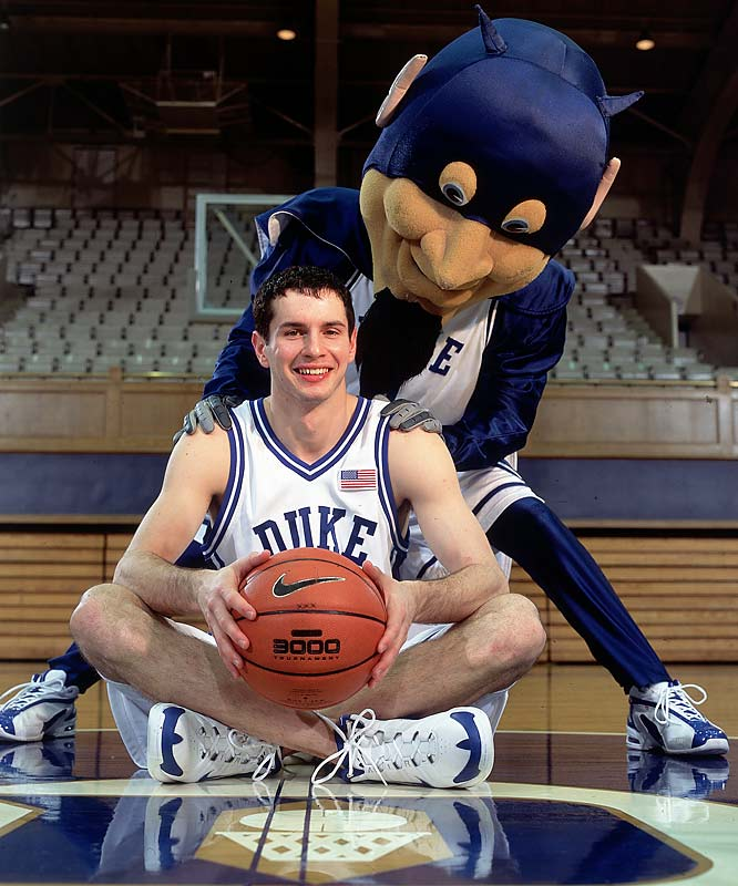 J.J. Redick -- the ACC's all-time leading scorer -- poses with the Duke Blue Devil. <br><br>Send comments to siwriters@simail.com.