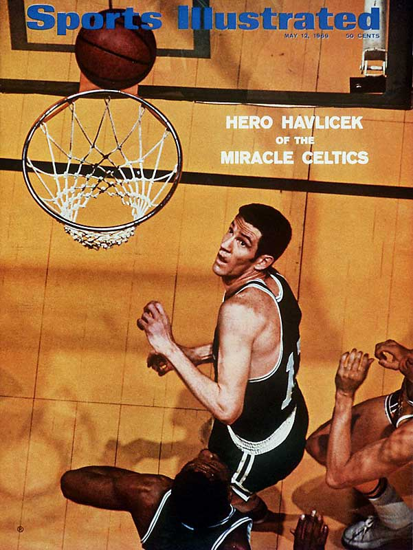 In John Havlicek's final All-Star Game, Philadelphia's Doug Collins relinquishes his starting spot so Hondo could be in the starting lineup. Havlicek scores 10 points in a 133-125 East win.