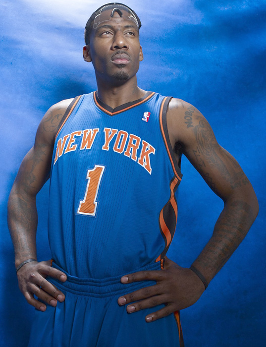Amar'e Stoudemire signed with the Knicks as a free agent during the summer of 2010 and immediately turned the team into contenders. He also became the first Knick to start an All-Star Game since Patrick Ewing in 1992.