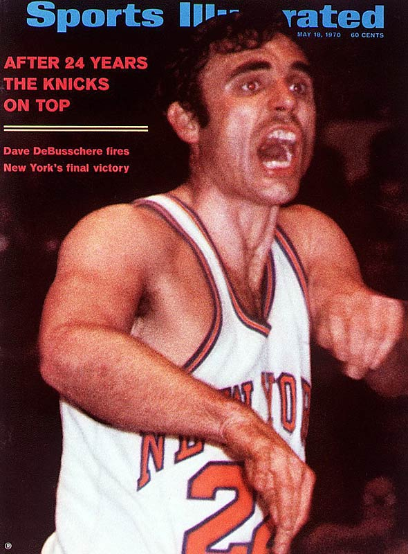 The always intense Dave DeBusschere appeared on this SI cover from May 1970.