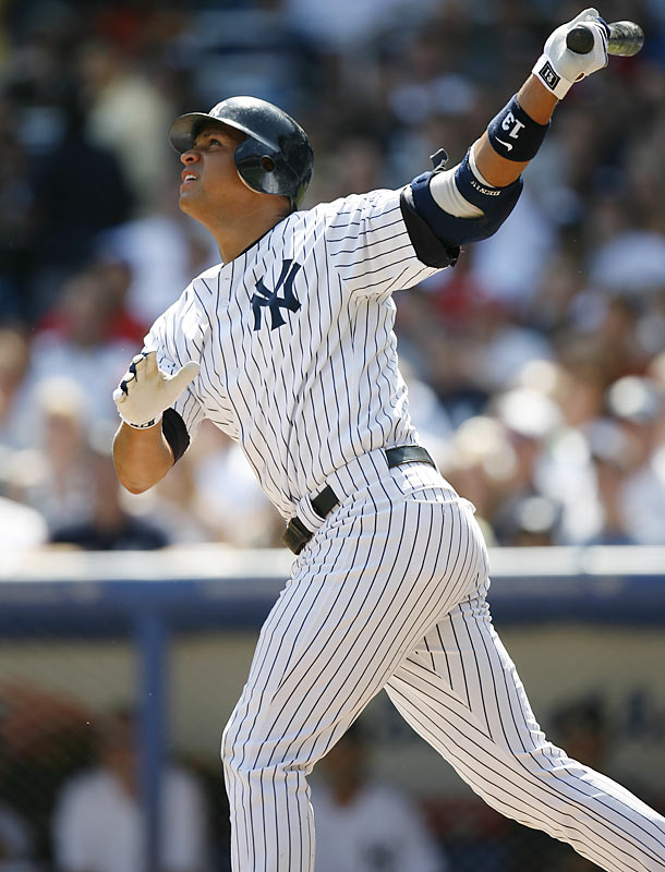 Rodriguez reached more milestones in 2006, notching both his 2,000th hit and his 450th home run. He finished the season with 121 RBIs, 113 runs and 35 home runs, but he also led all AL third basemen with 24 errors.