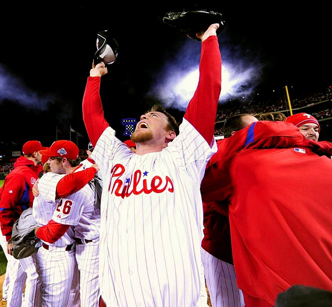 The Phils went 13-3 in their final 16 games to steal a second straight NL East title from the Mets and really took off in October. Philly rampaged past the Brewers (3-1), Dodgers (4-1) and Rays (4-1) to win the city's first major championship since the 76ers won the 1983 NBA Finals. The Phillies kept most of the roster intact and enter '09 as a serious contender again.