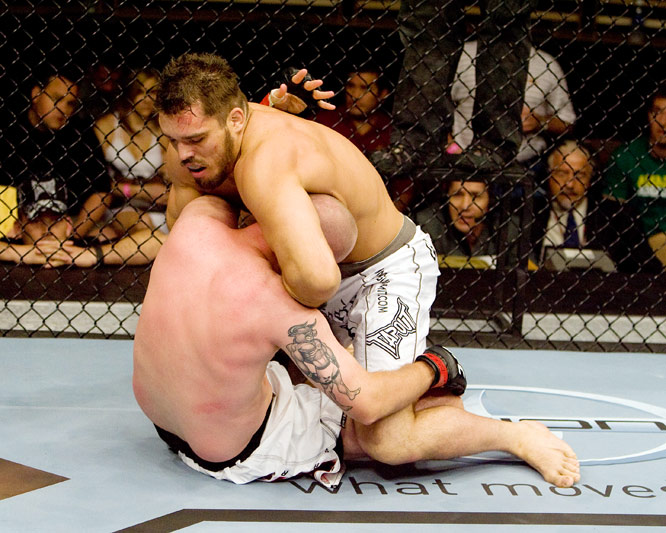 After wrestling in high school, Dean Lister turned his attention to Brazilian Jiu-Jitsu, which helped him earn nine of his 11 professional wins by submission.