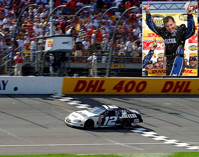 "After fans complained of too many finishes ending under the yellow flag, including the June 2004 Michigan race won by Ryan Newman, NASCAR implemented a green-white-checkered ""overtime"" system. As long as a crash doesn't occur on the white flag lap, there's a guarantee drivers will be racing hard to the checkered flag. But if a crash occurs on the final lap? All bets are off; and sometimes the field is frozen and fans are robbed of a chance to see cars battle side by side for the finish."