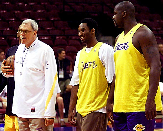 With Kobe Bryant voted in as a starter, Shaquille O'Neal selected as a reserve and Phil Jackson earning a chance to coach the Western Conference All-Star team, the three are reunited for the first time since the Lakers lost to the Pistons in the 2004 NBA Finals.