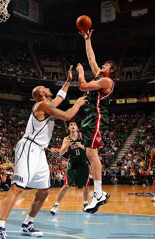 Less than two weeks after Michael Redd's ACL tear, Milwaukee's starting center was lost for at least two months with a stress fracture in his back. Bogut, the No. 1 pick in the 2005 draft, who signed a five-year, $60 million deal last offseason, was averaging 11.7 points and 10.3 rebounds.