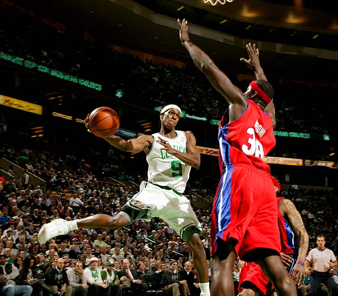 Rondo answered a lot of questions with his solid play during Boston's championship run last season. But he's playing at a near-All-Star level now, leading all guards in shooting (50.4 percent) while averaging 11.2 points, 5.1 rebounds, 8.3 assists and 2.0 steals. Imagine how effective he would be if his jump shot became an asset.