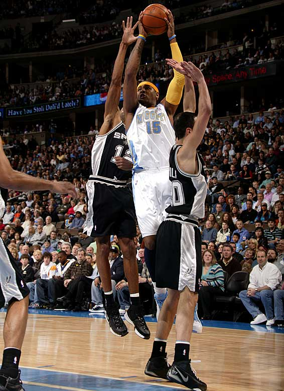 San Antonio entered the week with a 1 1/2-game lead over Denver for the No. 2 seed in the Western Conference. This is the second of eight consecutive road games for the Spurs, who play five of those games before the All-Star break and three afterward. The road team has won both matchups between the teams this season. Denver's Carmelo Anthony is back after missing 10 games with a broken hand.