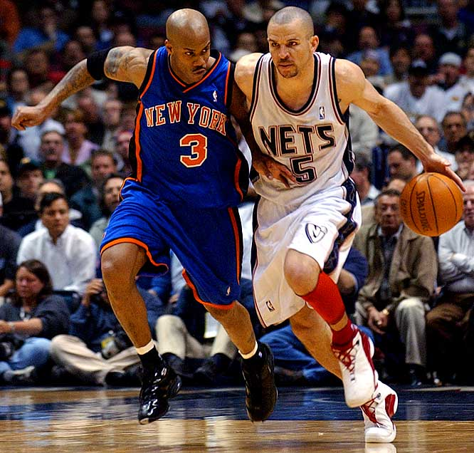 "Marbury declares himself ""the best point guard in the NBA,"" even though many consider him to be the second-best point guard in his own market, behind the Nets' Kidd."