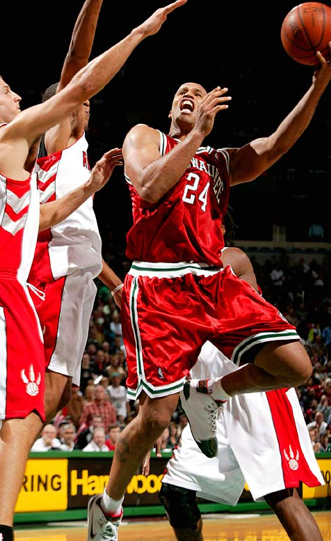 The Bucks would have trouble re-signing impending free agents Ramon Sessions and Charlie Villaneuva without dealing one of their big contracts. With Michael Redd out for the season after ACL surgery, Jefferson becomes the most likely high-priced player to be dangled.