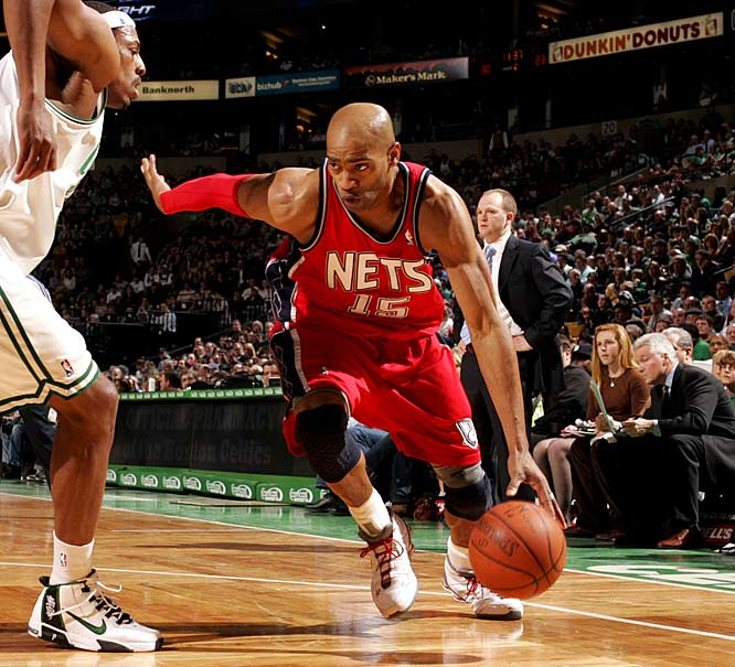 The Nets launched their rebuilding plan last summer by dealing Richard Jefferson's long-term contract to Milwaukee. The next logical move in that strategy would be to deal Carter, who has two years and more than $33 million left on his deal after this season. The Spurs and Mavs are among the teams rumored to be interested.