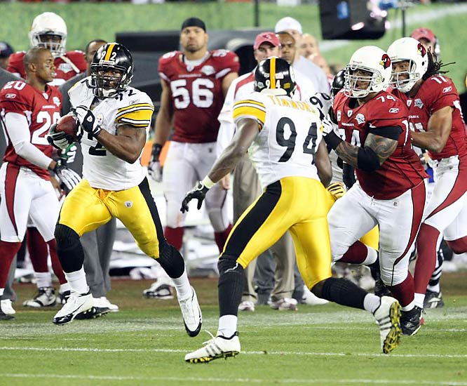 Lawrence Timmons gets set to block a pair of Cardinals.