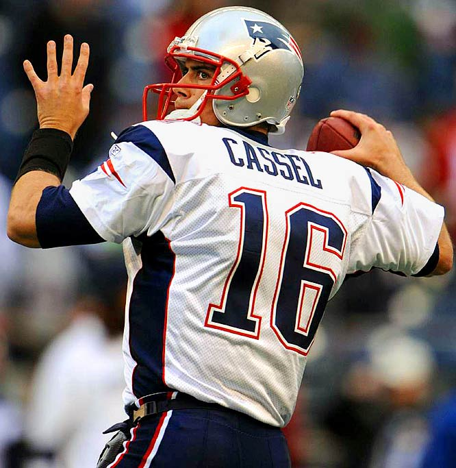 After leading the Patriots to an 11-5 record in 2008, Matt Cassel was quickly given a franchise tag and a one-year $14.65 million contract. Whether he is eventually traded or becomes the Steve Young to Tom Brady's Joe Montana, Cassel's name will be batted around for a while in rumors. He has been linked to everyone from the Lions to Scott Pioli and the Chiefs.