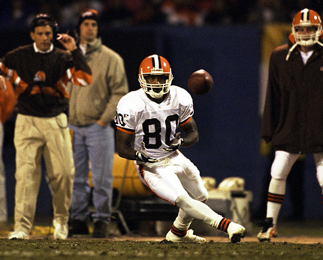 The four-time Pro Bowl receiver signed a five-year, $17 million deal, making him the highest paid receiver in NFL history at the time.  But that season he had career lows in receptions (47), yards (701), touchdowns (3), receptions per game (2.9) and yards per game (43.8). He was released at the end of the season.