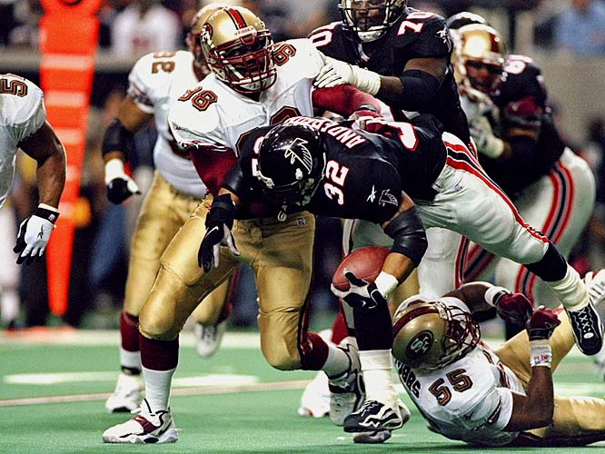 He had showed such freakish athleticism and incredible promise on the Super Bowl-winning Packers of the mid-90's that the 49ers had few doubts about signing him to a $4 million-a-year deal.  But a lingering knee injury limited Wilkins to just 24 games and one sack in two years with the franchise.