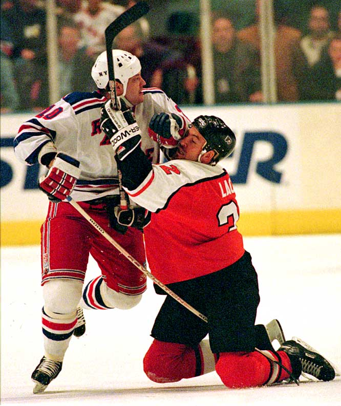 If Wayne Gretzky was The Great One, his left winger was The Grate One during their years together in Edmonton during the 1980s. The feisty Finn was infamous for his often unintelligible chatter and irritating surgery with the stick, but his name is on five Stanley Cups and he had three 30-goal seasons with the Oilers before bringing his mayhem to the Rangers, Blues, Devils, Canucks, Panthers and Capitals.