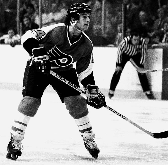 The Rat was versatile, deceptively fast and a master at goading foes into retaliatory penalties. But he could wear out his welcome. Linseman got himself traded out of Philadelphia after his first four NHL seasons to Edmonton, where he won a Cup in 1984 while skating on a line with Hall of Famers Mark Messier and Glenn Anderson. The Rat hung 'em up in 1991, after also playing for the Bruins and Maple Leafs, with a very respectable 807 points in 860 games.