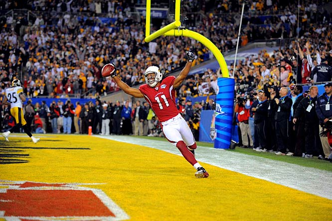 Forget about the Lingerie Bowl, some Arizona residents were able to celebrate Larry Fitzgerald's big fourth quarter touchdown with a 30-second porn clip that accidentally aired during the broadcast. Those viewers inconvenienced by the porn clip will reportedly receive a $10 credit from Comcast. The best Super Bowl ever, a free porn clip, plus $10. Don't you love this country?