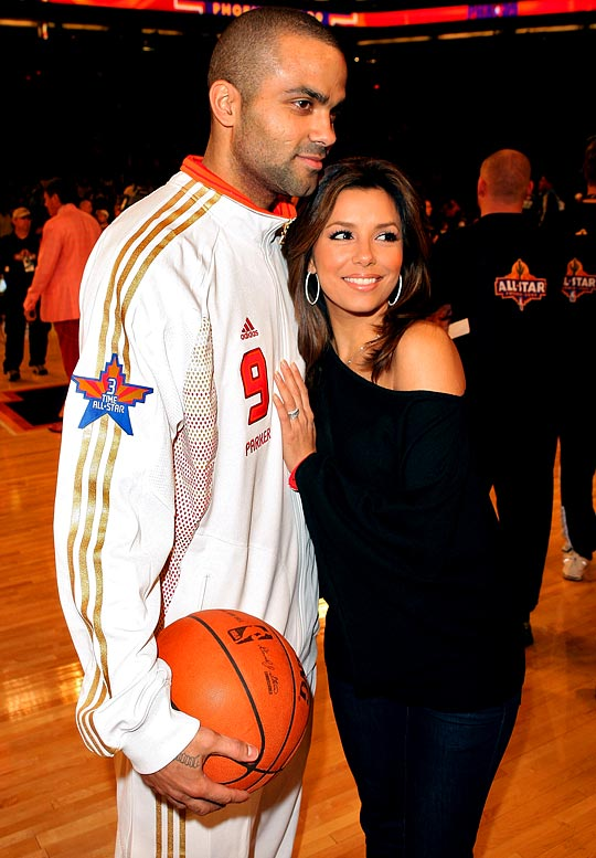 "Why can't all celebrity couples be like Tony and Eva? While most celebs shy away from talking about their significant others, the Parkers were all over each other during the weekend and talked about spending the off-season in France, where Parker just bought a basketball team. ""I love France and French men,"" said Longoria smiling at Parker. ""I mean I love this French guy."""