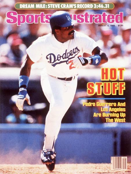 Pedro Guerrero becomes the highest paid Dodger when he signs a five-year, $7 million contract to play in Los Angeles.