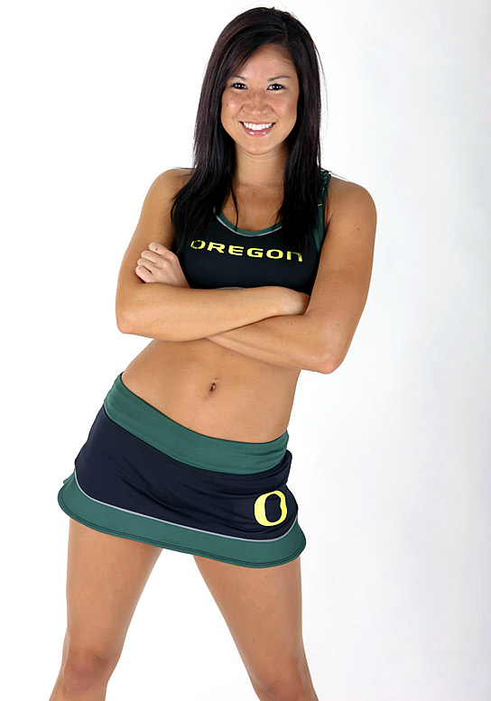 Meet Lauren, an Oregon University senior and proud Ducks cheerleader. Lauren, who has an addiction to frozen yogurt, is a huge Chris Farley fan.<br><br>Want to find out more? <br>Click the '20 Questions' link below.