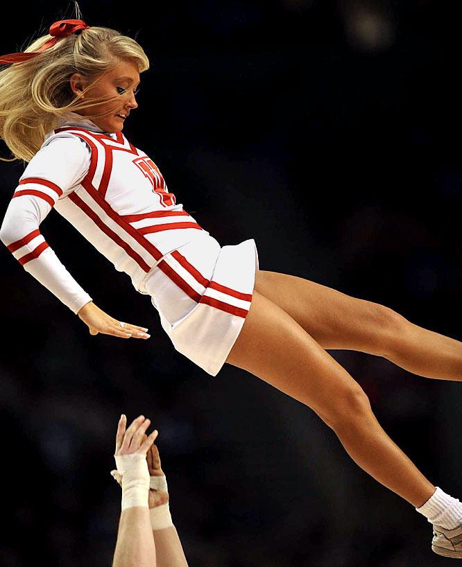Cheerleaders god hand
