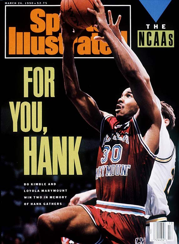 Perhaps the most remarkable thing about LMU's run to the Elite Eight is the tragedy out of which it arose. Just weeks before, in a Western Conference tournament game, team star Hank Gathers collapsed and died of a heart condition.  Motivated by the death, and led by Gathers' best friend Bo Kimble, the No. 11 seed upset No. 6 seed New Mexico State, 13th-ranked Michigan and Alabama before losing to eventual champion UNLV.