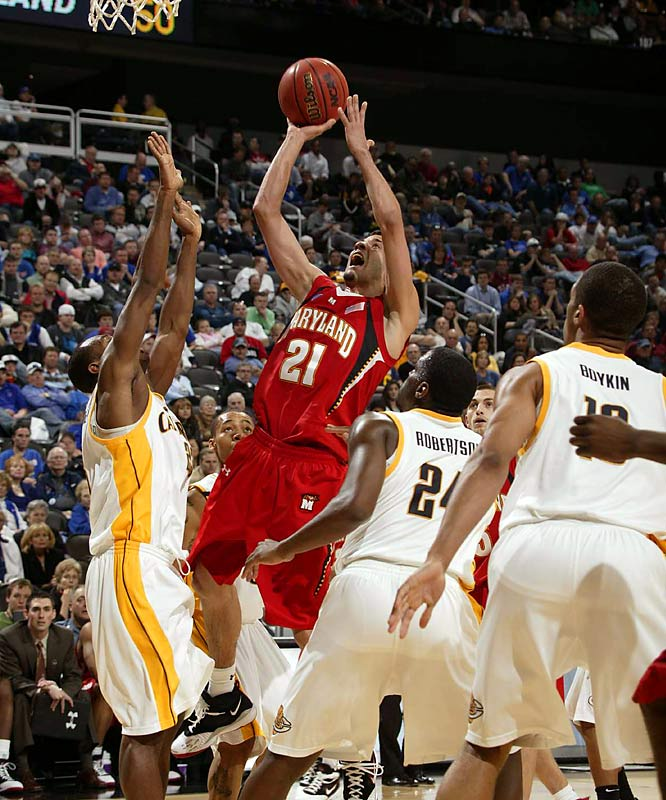 Grievis Vasquez had 27 points and Maryland shut down the nation's best 3-point shooting team in a victory over Cal.