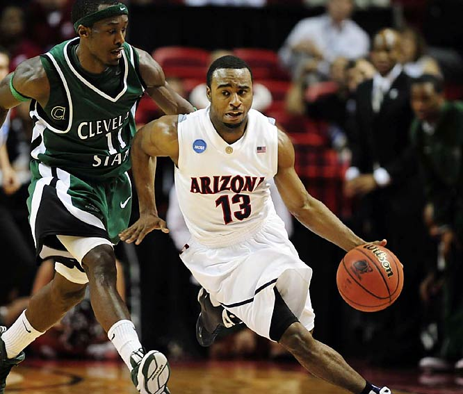Nic Wise scored 21 points to lead four double-figure scorers for Arizona.