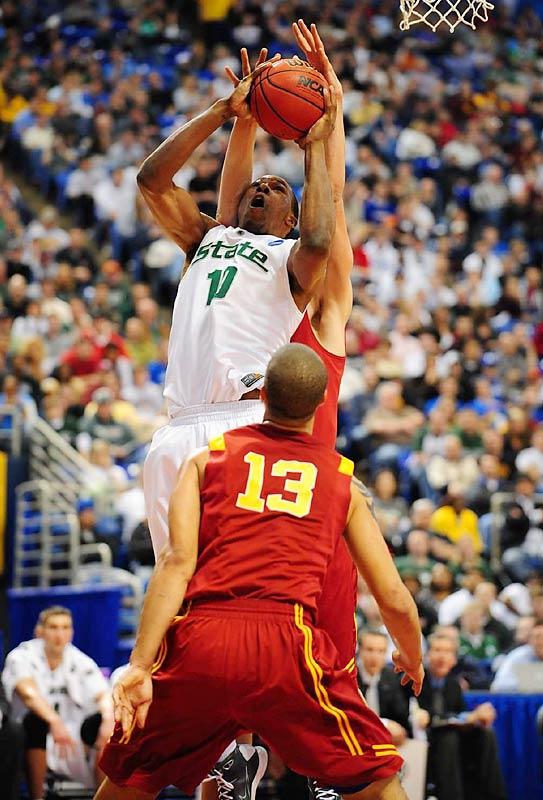 The Spartans were unable to put 10th-seeded USC away until the final seconds.